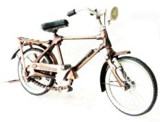 Johan Brass Miniatur Sepeda Onthel