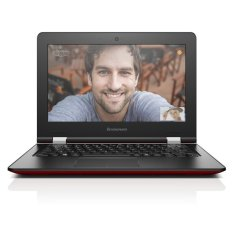 Lenovo IdeaPad 100s - Intel Quad Core Z3735F - 2GB RAM - 11.6 Inch - Windows 10 - Merah