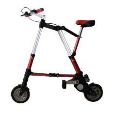 Promo Sepeda Lipat Super Kecil - Merah