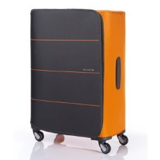 [SAMSONITE] R-21 Suitcase SPINNER 77/28_GREY/ORANGE (R4968003) (single option)