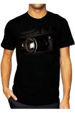 T-Shirt Glory Kaos 3D Canon 3D - Hitam