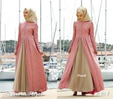 ... Trend Baju Maxi Jaguar Embos Pashmina Uk L Merah Muda