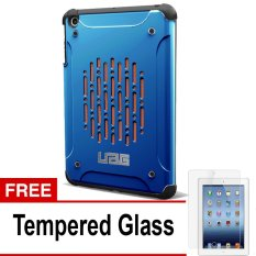 UAG Case for Ipad MIni 1 Urban Armor Gear - Biru + Gratis Tempered Glass