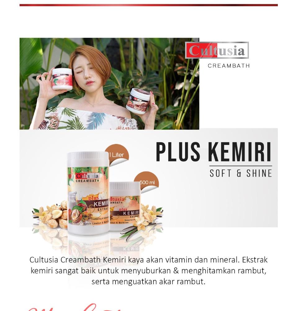 Cultusia Creambath Kemiri 1000ml Lazada Indonesia