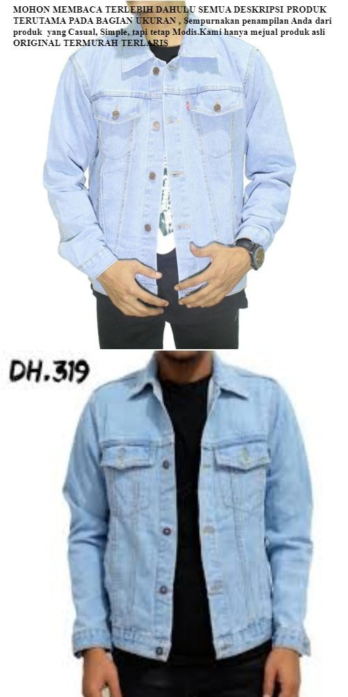 Spesifikasi dari Jaket Jeans Levis Pria Bioblitz Premium / Jaket Levis Denim Pria