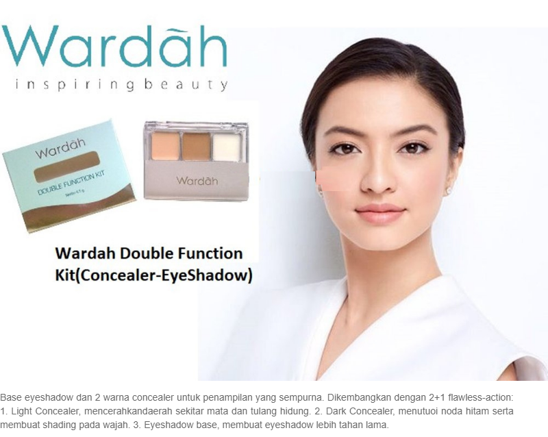 Wardah Double Function Kit: Membeli jualan online Eye