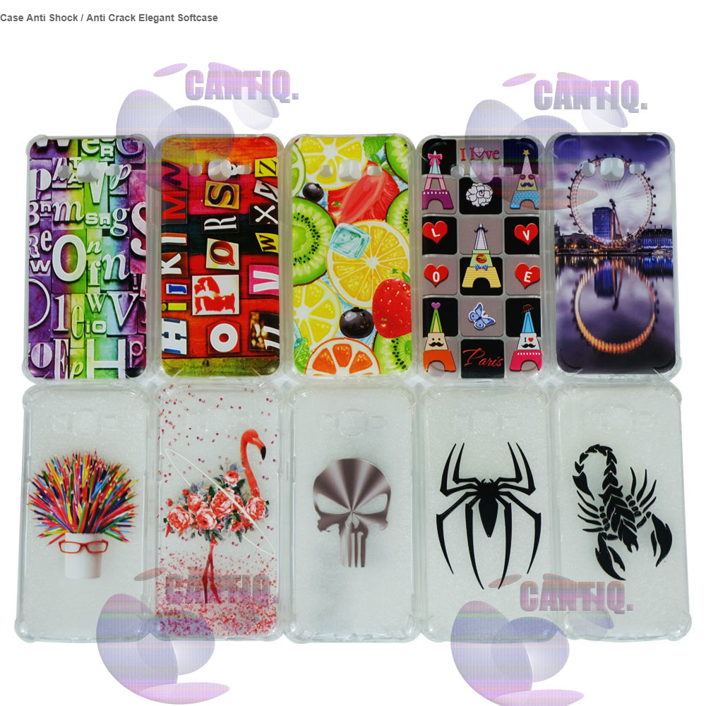 Case Anti Shock  2f Anti Crack Elegant Softcase For