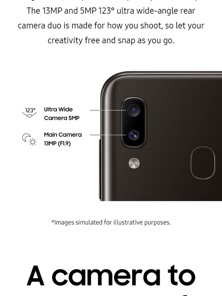 Samsung Galaxy A20: Membeli jualan online Handphone dengan