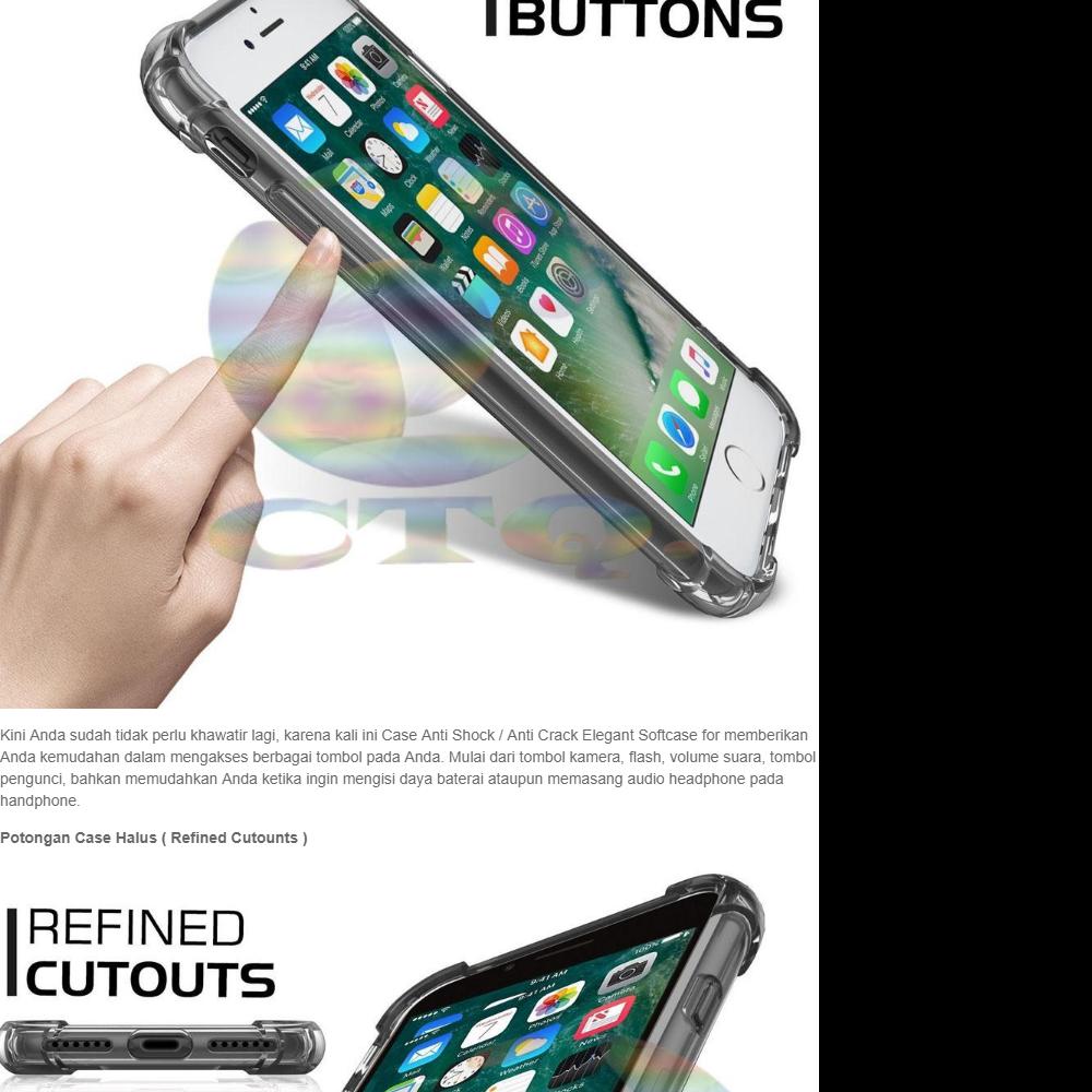 ... Spesifikasi dari Case Anti Shock Oppo Neo 9 A37 Ultrathin Anti Crack Oppo A37 Elegant Softcase