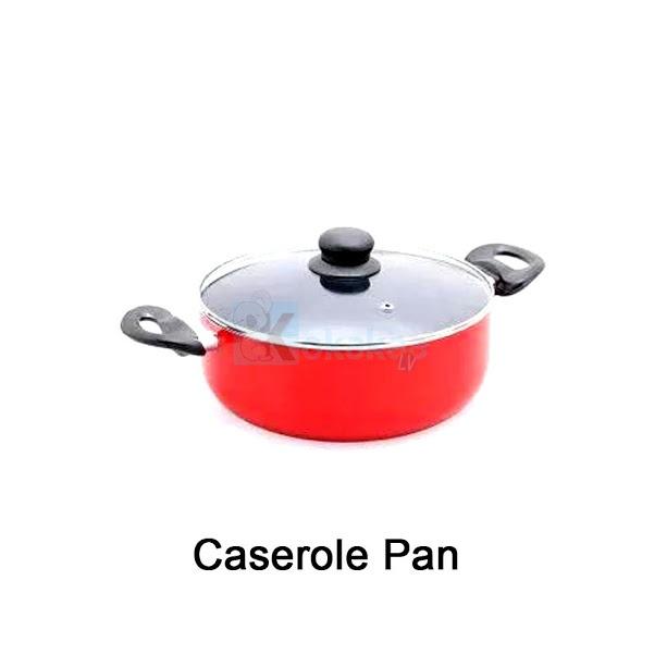 Niko Panci Teflon Set Lengkap Fry, Sauce, Caserole Pan