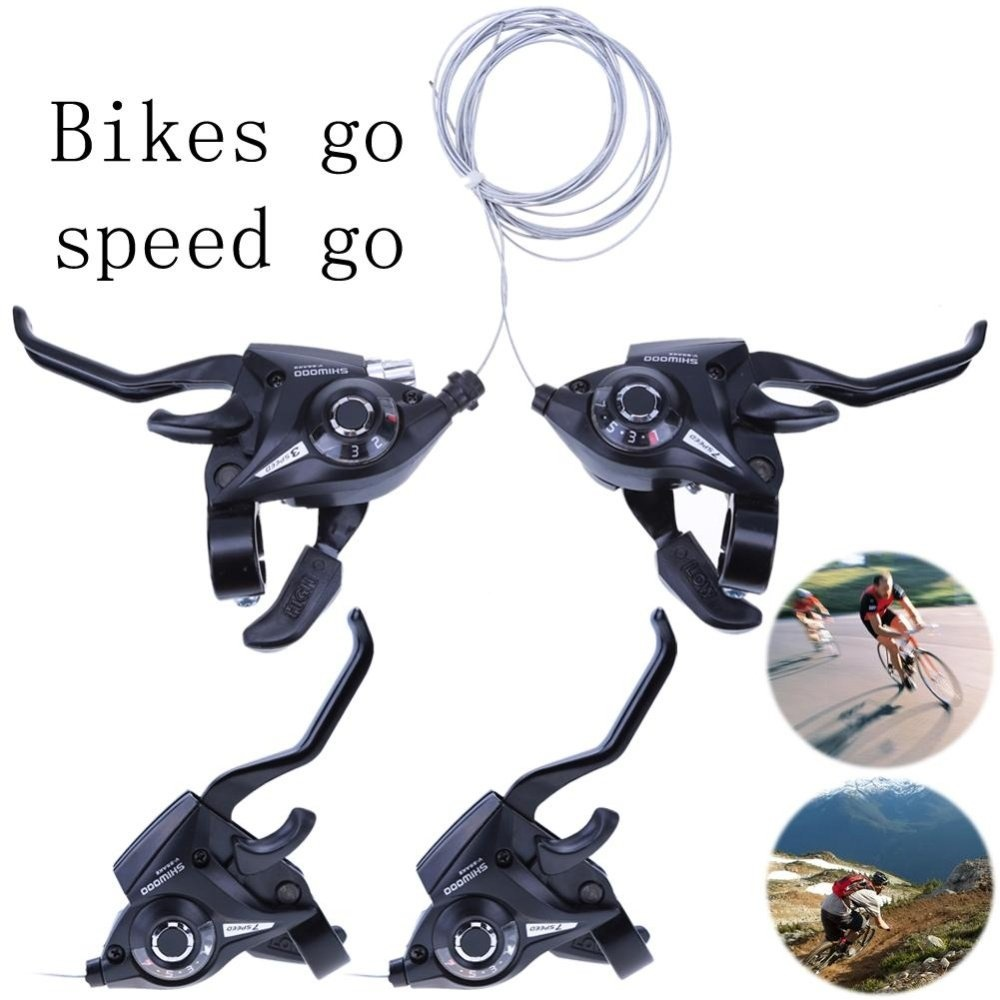 1Pair 21Speed Bicycle Shifter Brake Conjoined DIP Derailleurs Mountain Bike Hand